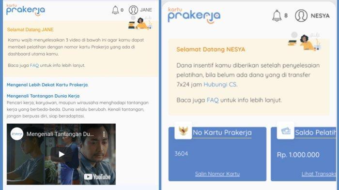 CEK Dashboard www.prakerja.go.id dan Ikuti Pelatihan Kartu Prakerja 21, Simak Caranya